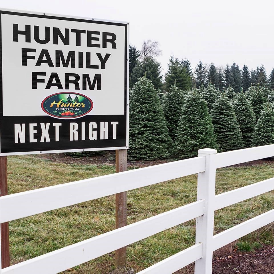 Cut Your Own Christmas Tree York Pa: Hunter Family Farm Christmas Tree Farm