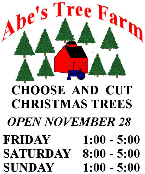Cut Your Own Christmas Tree York Pa: Abe's Tree Farm Christmas Tree Farm