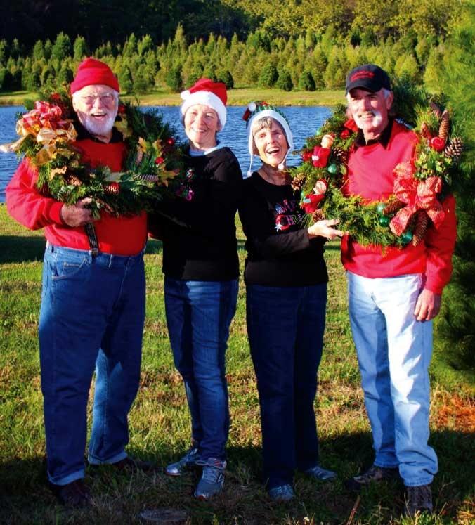 Cut Your Own Christmas Tree York Pa: Blue Heron Farm Christmas Tree Farm